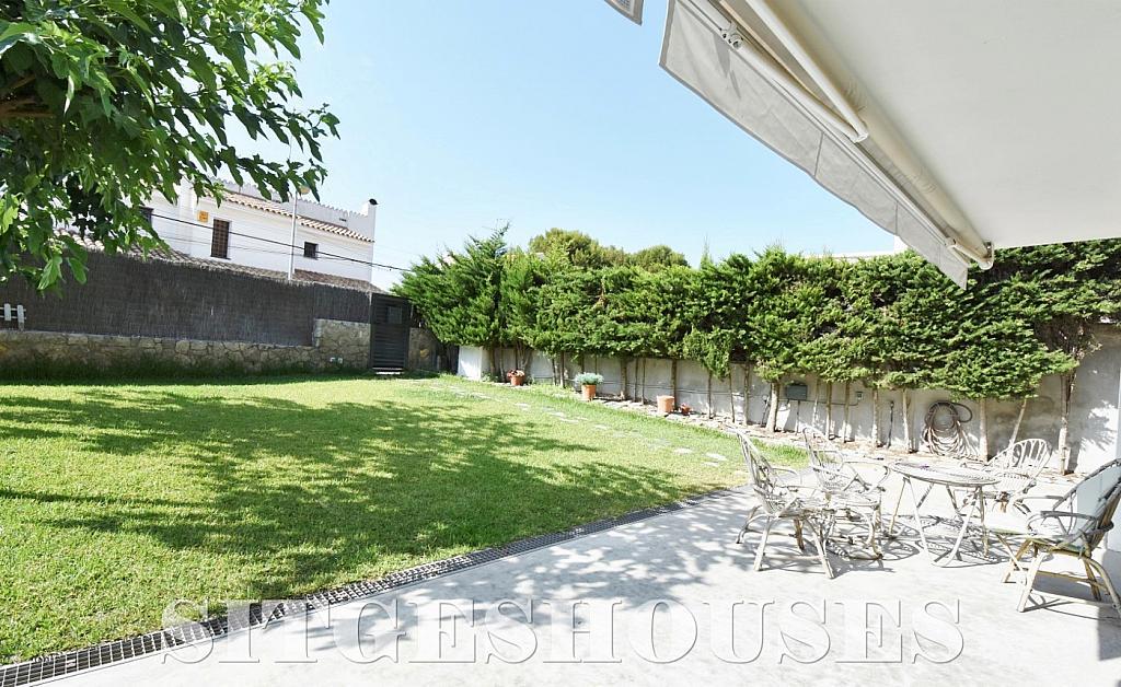 Jardín - Casa en alquiler en calle Manuel de Falla, Vallpineda en Sitges - 294490672