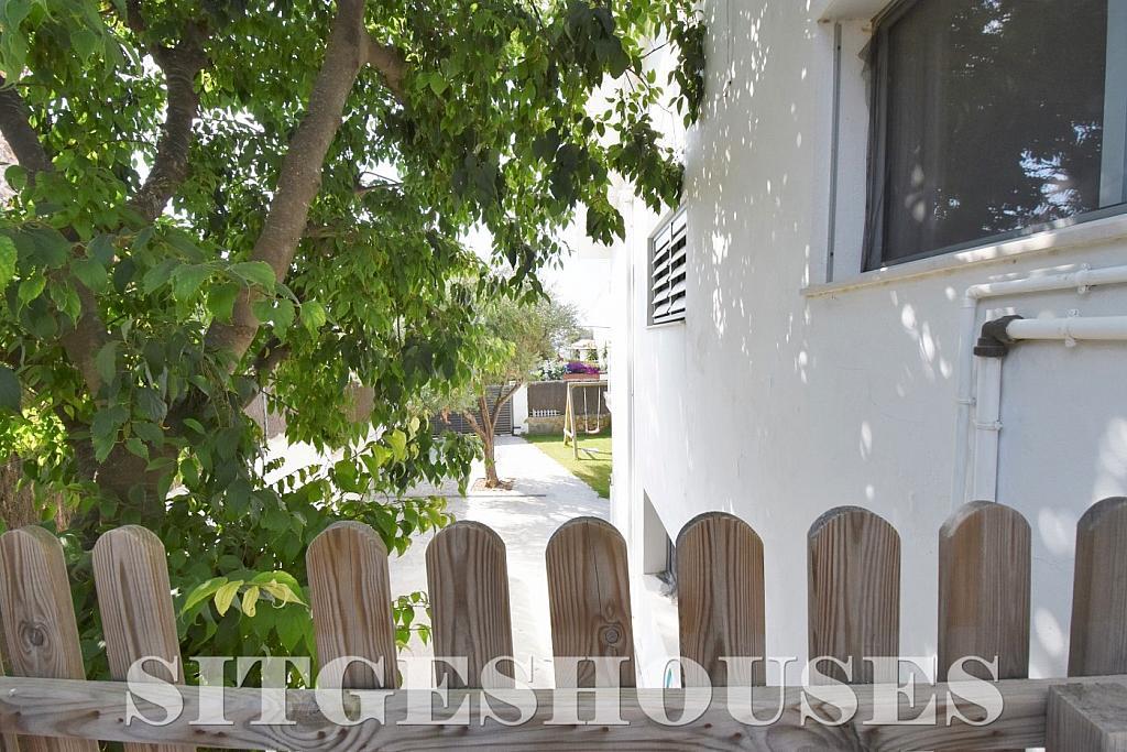 Jardín - Casa en alquiler en calle Manuel de Falla, Vallpineda en Sitges - 294490675
