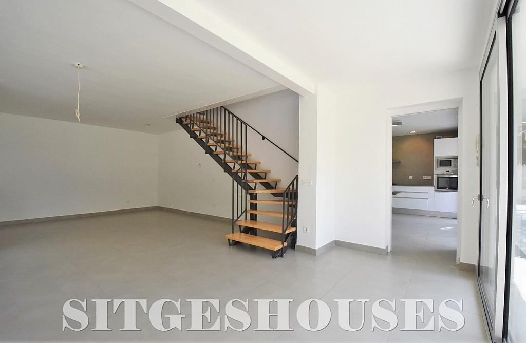 Salón - Casa en alquiler en calle Manuel de Falla, Vallpineda en Sitges - 294490698