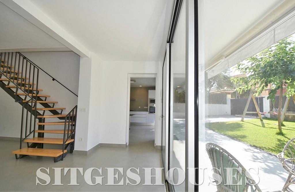 Salón - Casa en alquiler en calle Manuel de Falla, Vallpineda en Sitges - 294490704
