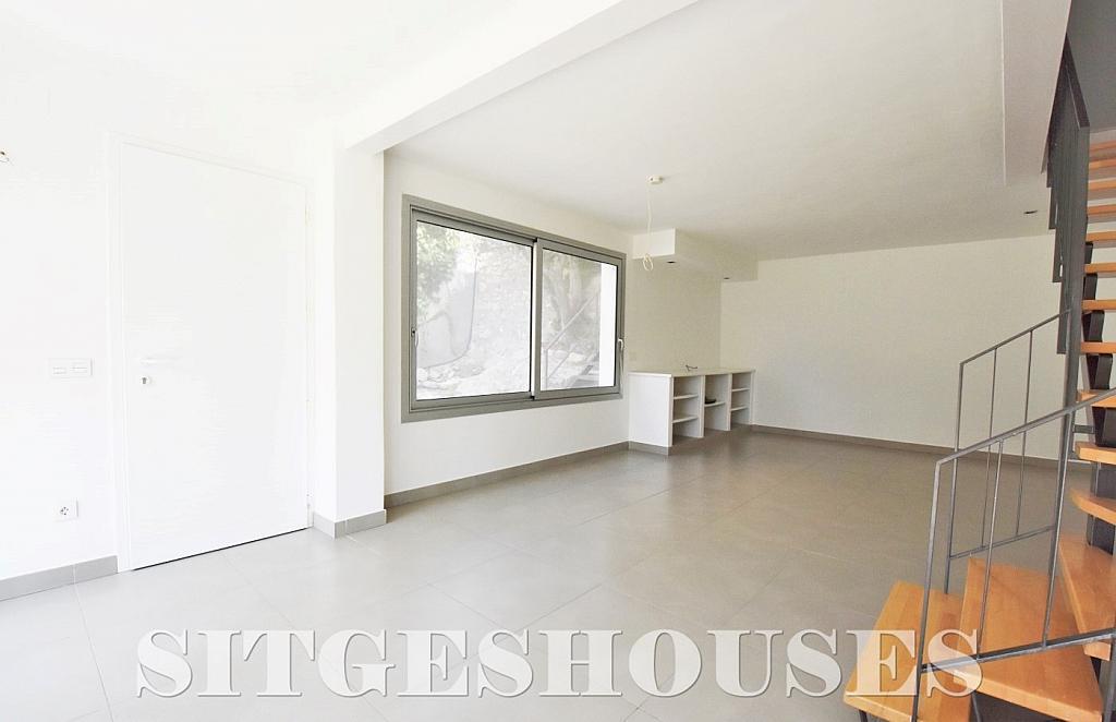 Salón - Casa en alquiler en calle Manuel de Falla, Vallpineda en Sitges - 294490707
