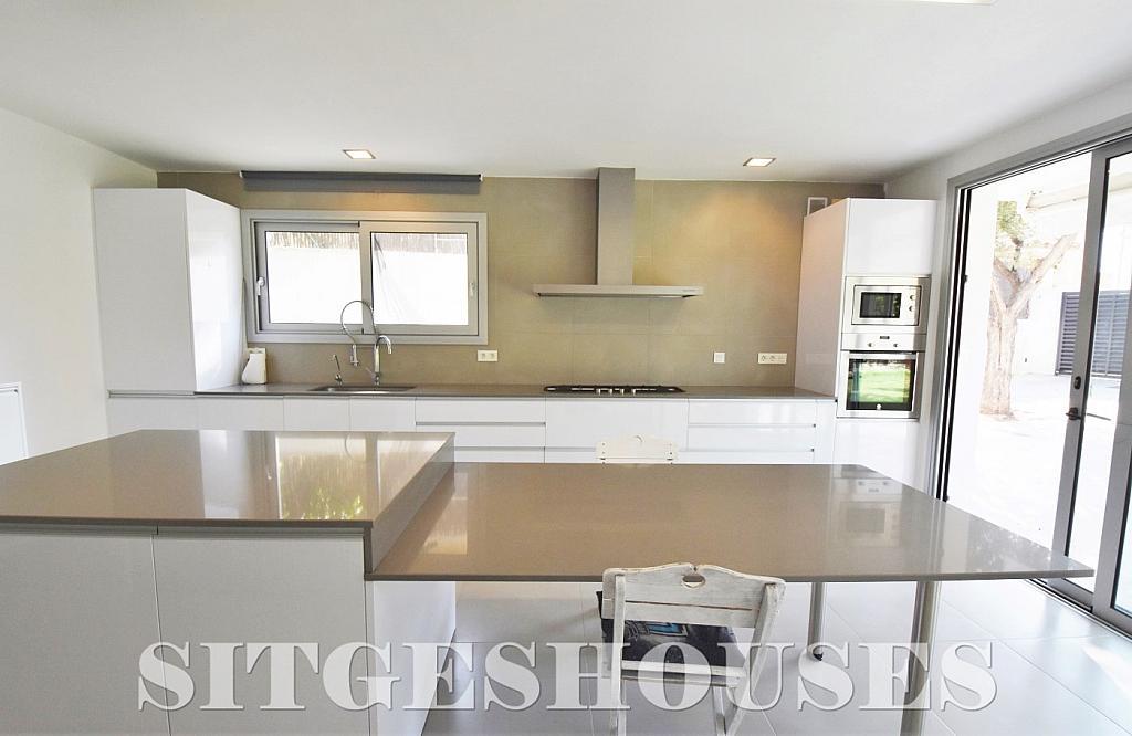 Cocina - Casa en alquiler en calle Manuel de Falla, Vallpineda en Sitges - 294490713