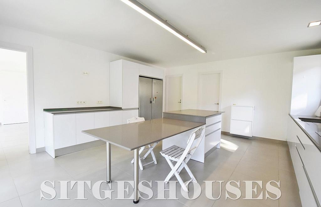 Cocina - Casa en alquiler en calle Manuel de Falla, Vallpineda en Sitges - 294490716