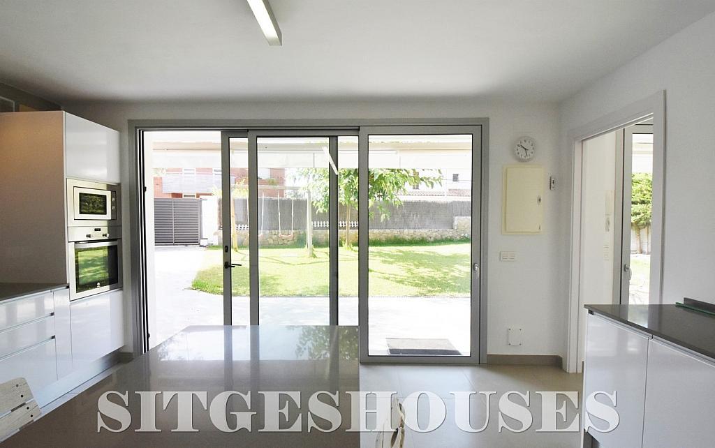 Cocina - Casa en alquiler en calle Manuel de Falla, Vallpineda en Sitges - 294490722