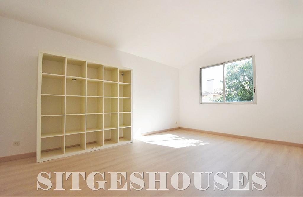 Dormitorio - Casa en alquiler en calle Manuel de Falla, Vallpineda en Sitges - 294490732