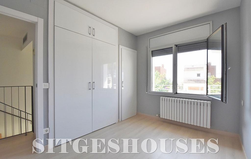 Dormitorio - Casa en alquiler en calle Manuel de Falla, Vallpineda en Sitges - 294490742