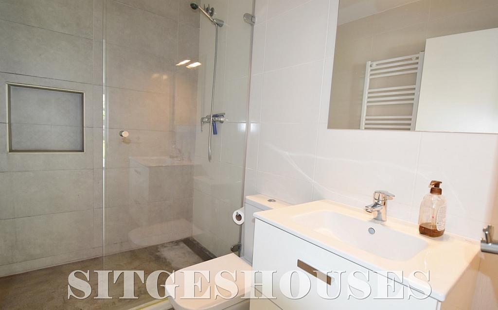 Baño - Casa en alquiler en calle Manuel de Falla, Vallpineda en Sitges - 294490758