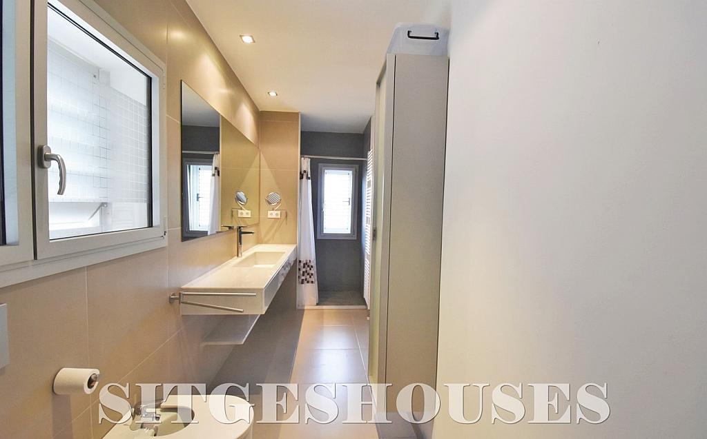 Baño - Casa en alquiler en calle Manuel de Falla, Vallpineda en Sitges - 294490761