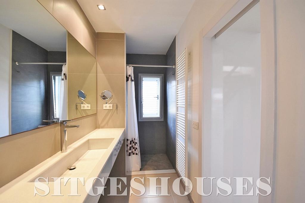 Baño - Casa en alquiler en calle Manuel de Falla, Vallpineda en Sitges - 294490763