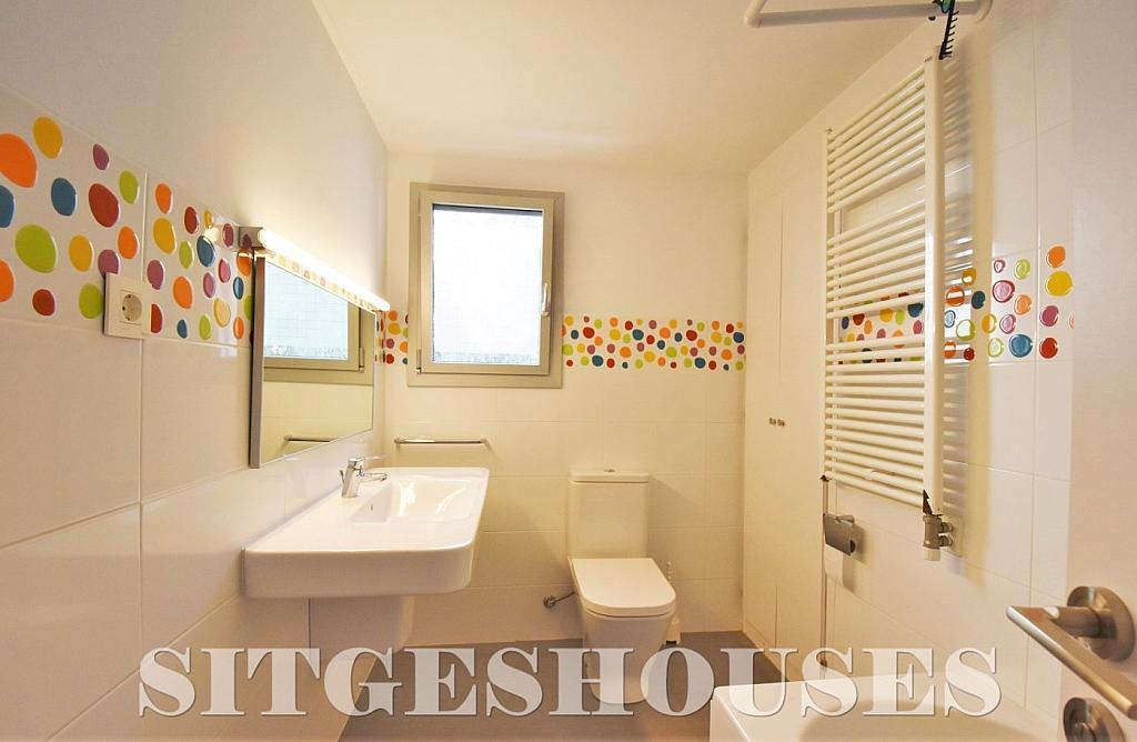 Baño - Casa en alquiler en calle Manuel de Falla, Vallpineda en Sitges - 294490765