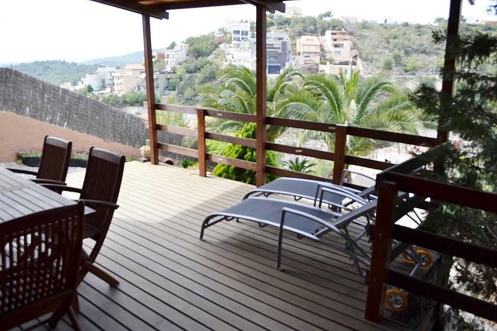 Terraza - Casa en alquiler en calle Puig Den Boronet, Quint mar en Sitges - 125138361