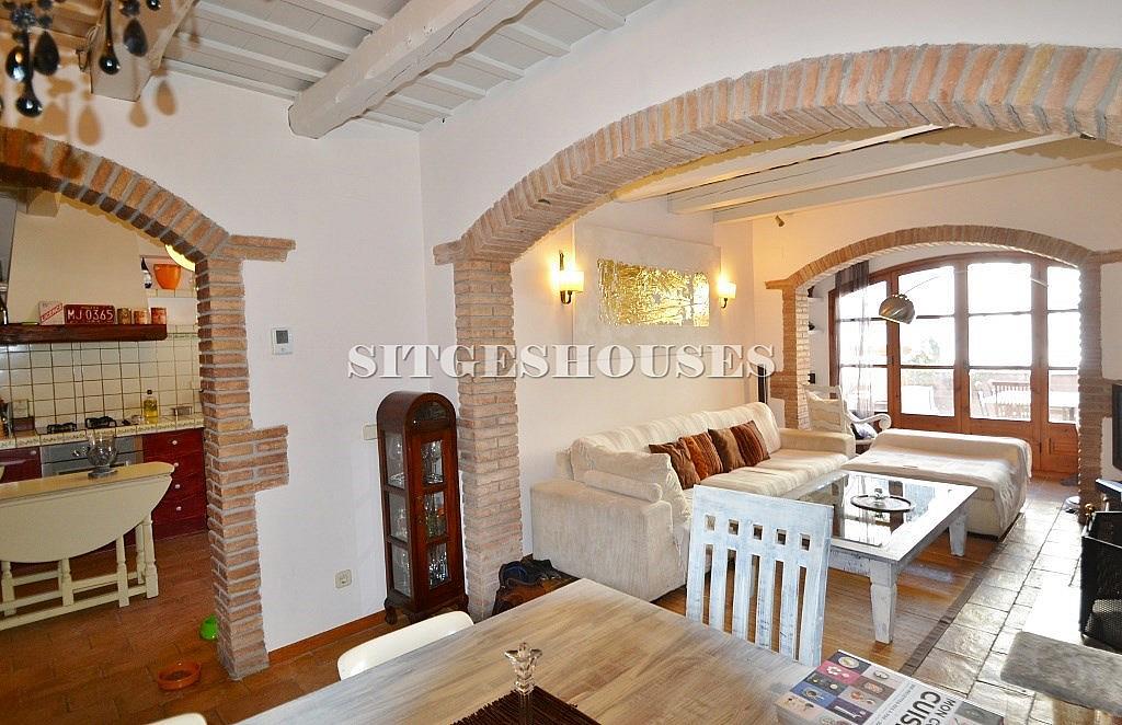 Salón - Casa en alquiler en calle Puigmoltó, Puigmoltó en Sant Pere de Ribes - 126640921