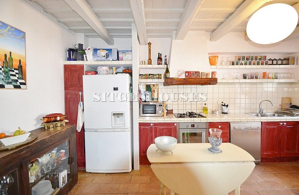 Cocina - Casa en alquiler en calle Puigmoltó, Puigmoltó en Sant Pere de Ribes - 126640926