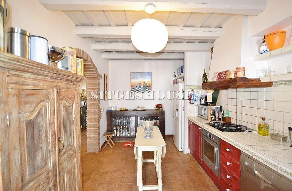 Cocina - Casa en alquiler en calle Puigmoltó, Puigmoltó en Sant Pere de Ribes - 126640929