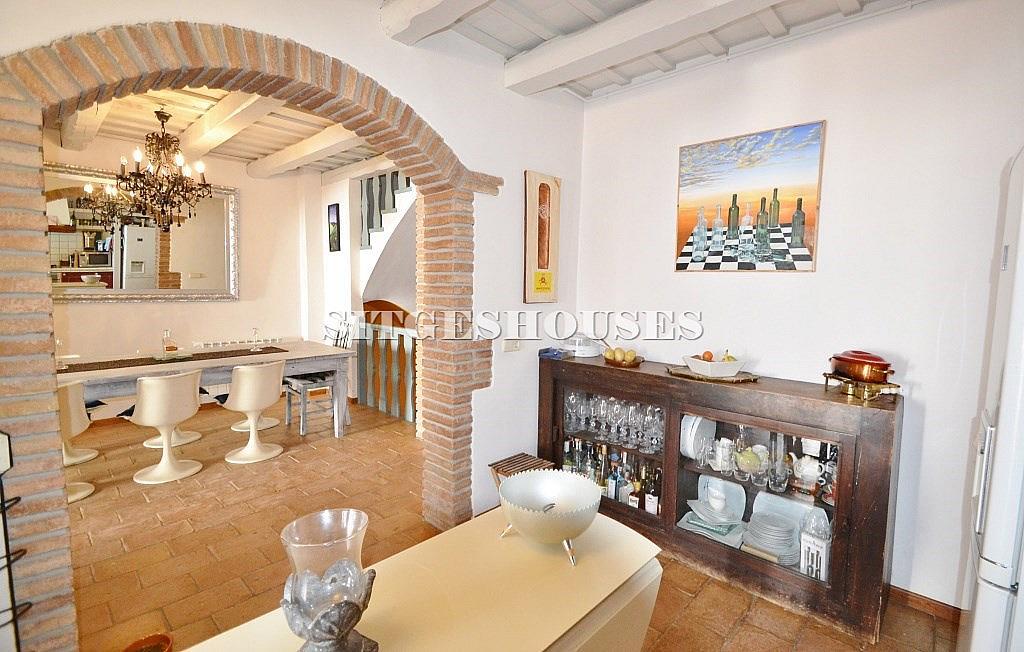 Comedor - Casa en alquiler en calle Puigmoltó, Puigmoltó en Sant Pere de Ribes - 126640948