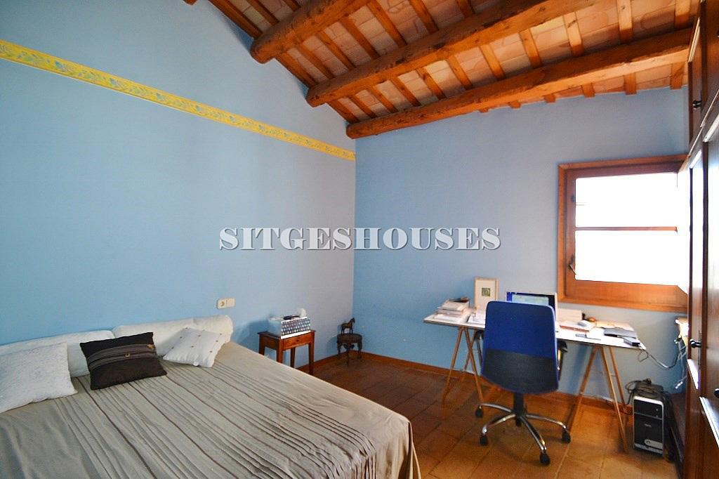 Dormitorio - Casa en alquiler en calle Puigmoltó, Puigmoltó en Sant Pere de Ribes - 126640958
