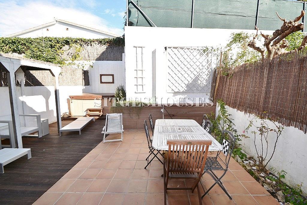 Terraza - Casa en alquiler en calle Puigmoltó, Puigmoltó en Sant Pere de Ribes - 126640974