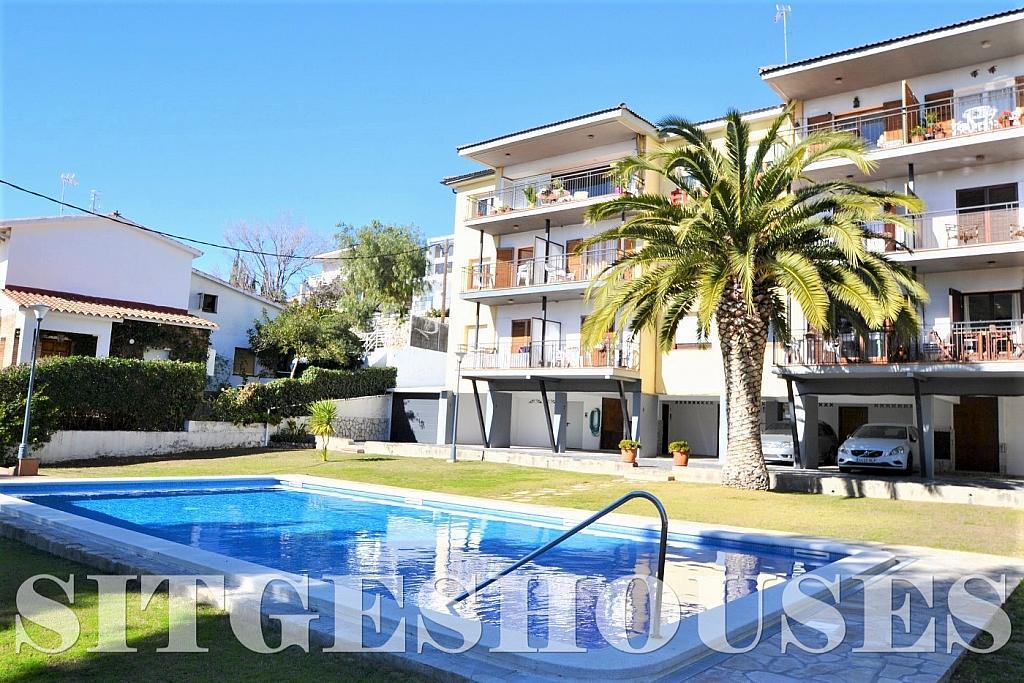 Jardín - Piso en alquiler en calle Sardana, Cent en Sitges - 394784311