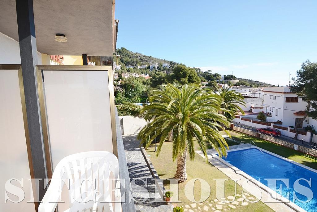 Jardín - Piso en alquiler en calle Sardana, Cent en Sitges - 394784313