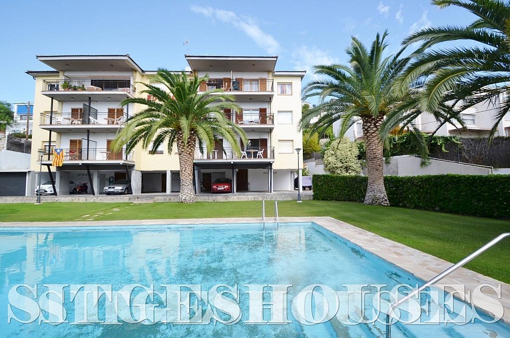 Piscina - Piso en alquiler en calle Sardana, Cent en Sitges - 394784316