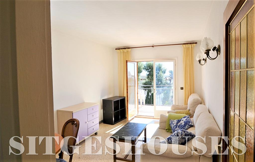 Salón - Piso en alquiler en calle Sardana, Cent en Sitges - 394784325