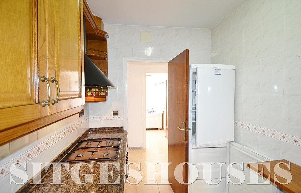 Cocina - Piso en alquiler en calle Sardana, Cent en Sitges - 394784330
