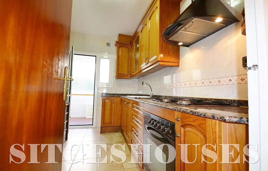 Cocina - Piso en alquiler en calle Sardana, Cent en Sitges - 394784332