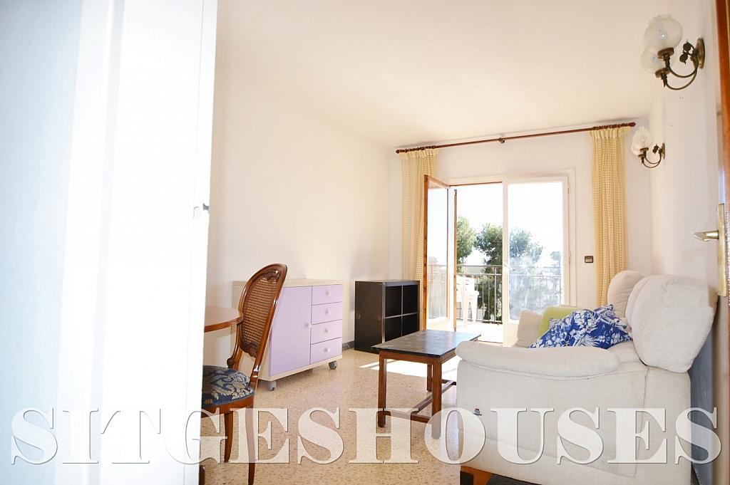 Salón - Piso en alquiler en calle Sardana, Cent en Sitges - 394784333