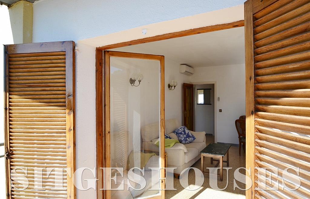 Salón - Piso en alquiler en calle Sardana, Cent en Sitges - 394784339