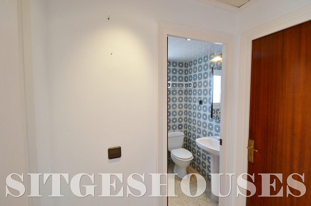 Baño - Piso en alquiler en calle Sardana, Cent en Sitges - 394784342