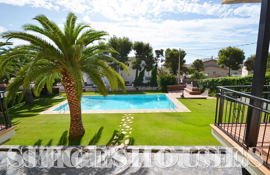 Jardín - Piso en alquiler en calle Sardana, Cent en Sitges - 394784348