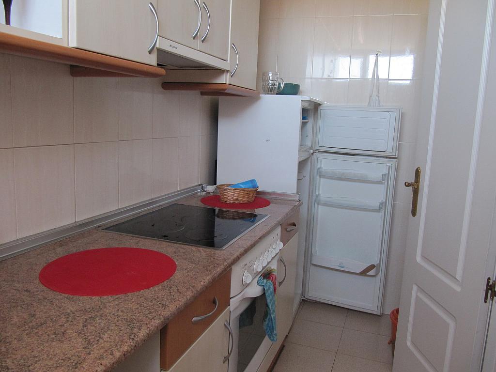 Cocina - Piso en alquiler en calle Jardinillos de San Roque, Segovia - 313866665
