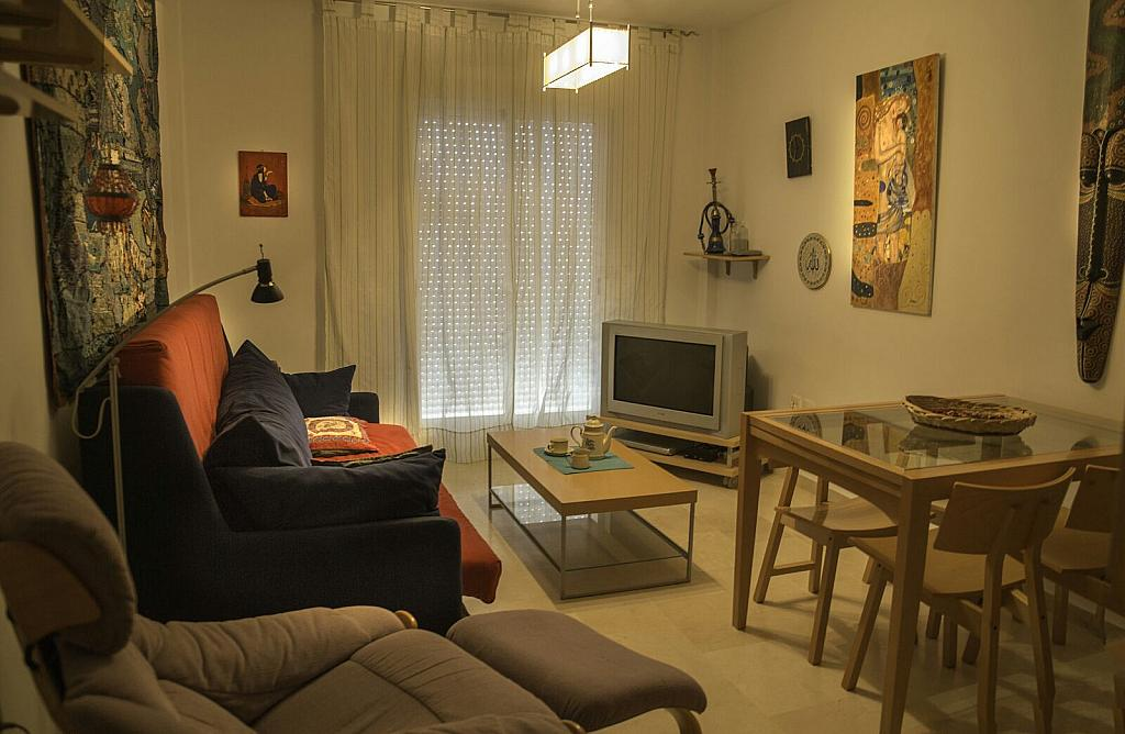 Salón - Piso en alquiler en calle Miguel de Cervantes, Vejer de la Frontera - 312585867