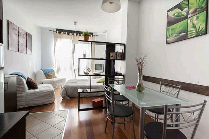 Dormitorio - Estudio en alquiler de temporada en calle Abad Najera, Casco Antiguo - Santa Cruz en Alicante/Alacant - 321237820