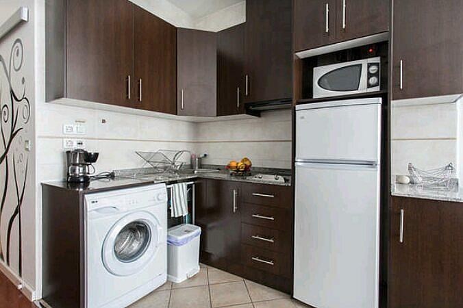 Cocina - Estudio en alquiler de temporada en calle Abad Najera, Casco Antiguo - Santa Cruz en Alicante/Alacant - 321237843