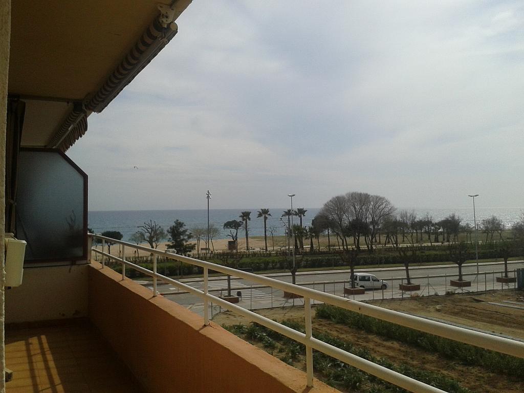 Balcón - Apartamento en venta en calle Camos, Pineda de Mar - 328019236