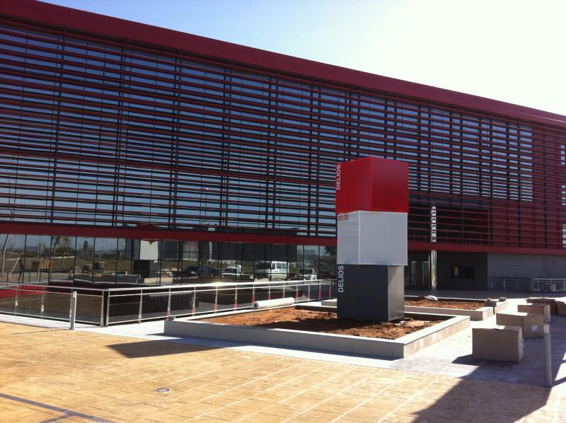 Fachada - Oficina en alquiler en calle Platino, Sevilla - 86060184