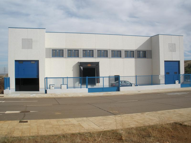 Fachada - Nave industrial en alquiler en calle Puerto de Tiro, Salamanca - 91680801