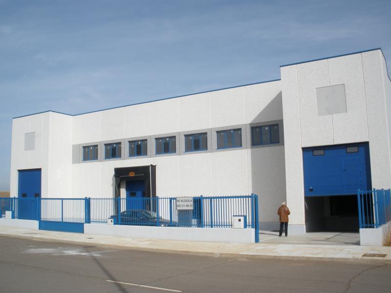 Fachada - Nave industrial en alquiler en calle Puerto de Tiro, Salamanca - 91680912