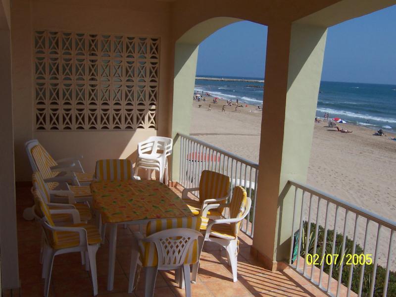 Terraza - Apartamento en alquiler en calle Virgen del Mar, Oliva - 96687129