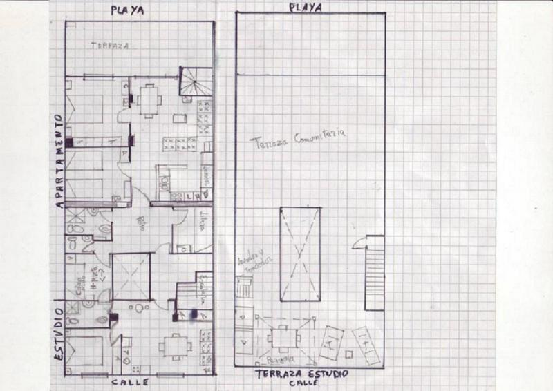 Plano - Apartamento en alquiler en calle Virgen del Mar, Oliva - 96689683