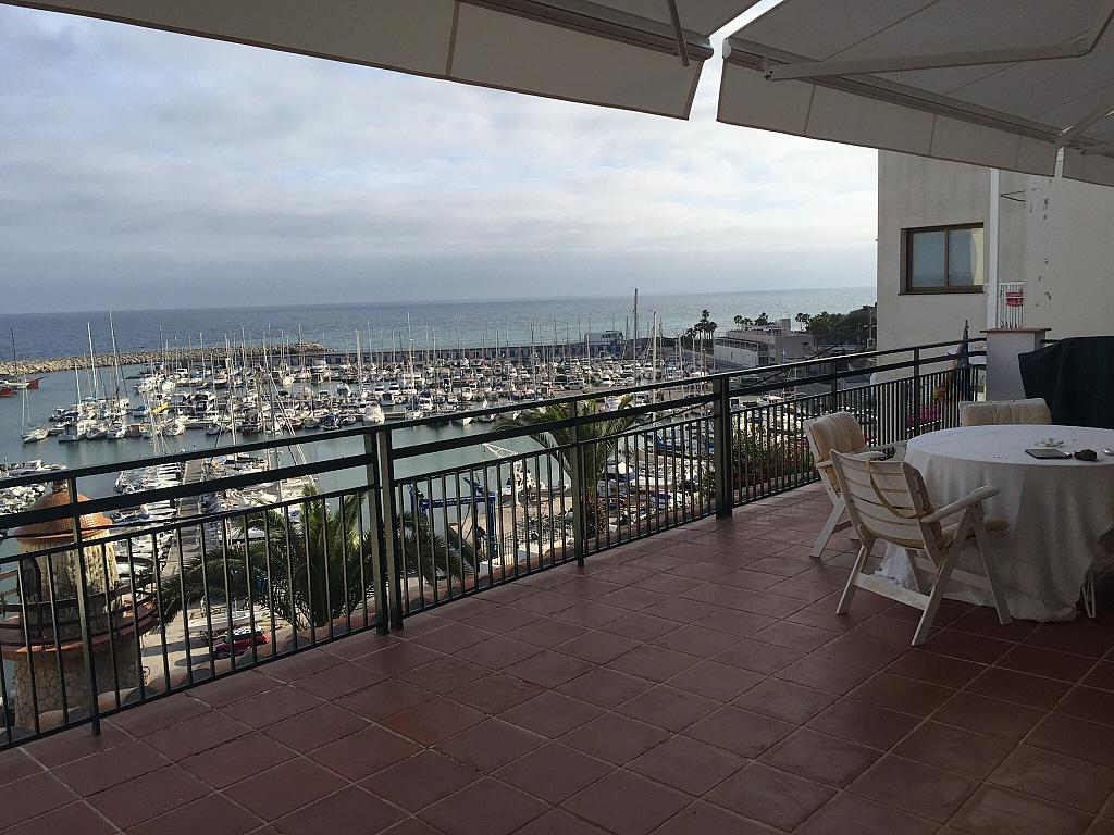 Terraza - Ático en alquiler en calle Nou, Parc del Garraf en Sitges - 320754673