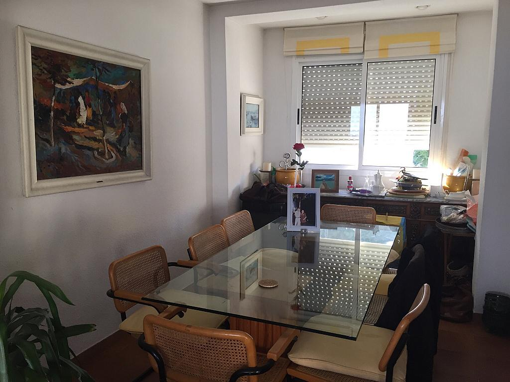 Comedor - Ático en alquiler en calle Nou, Parc del Garraf en Sitges - 320754681