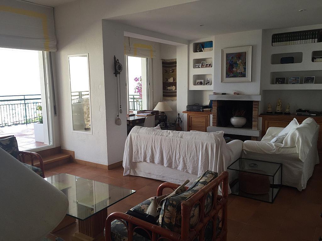 Salón - Ático en alquiler en calle Nou, Parc del Garraf en Sitges - 320754682