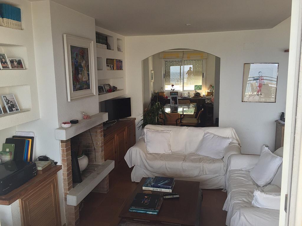 Salón - Ático en alquiler en calle Nou, Parc del Garraf en Sitges - 320754685