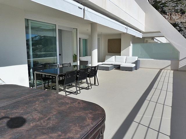 Terraza - Apartamento en alquiler en calle Munich, Altea - 320730445