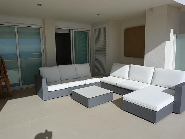Terraza - Apartamento en alquiler en calle Munich, Altea - 320730510