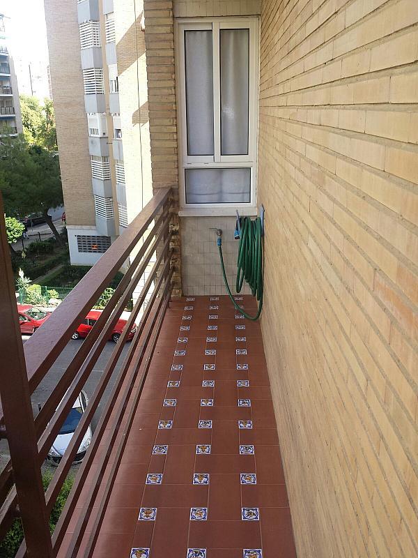 Terraza - Piso en alquiler en calle Eduardo Dato, Nervión en Sevilla - 331823541