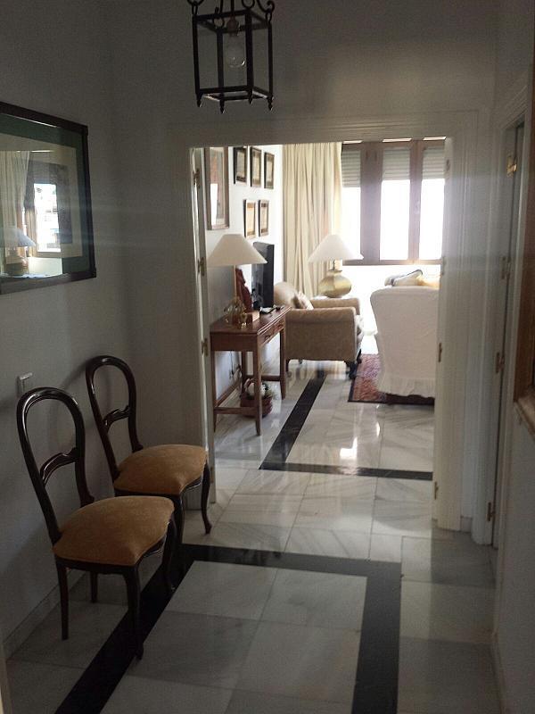 Vestíbulo - Piso en alquiler en calle Eduardo Dato, Nervión en Sevilla - 331823572