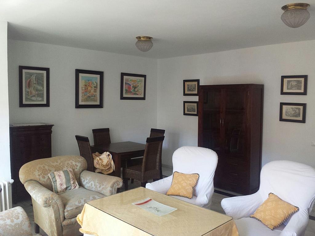 Salón - Piso en alquiler en calle Eduardo Dato, Nervión en Sevilla - 331823589